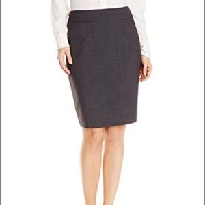 Calvin Klein Grey Pencil Skirt (12P)